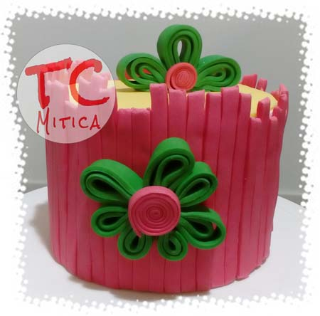 Quilling cake corso